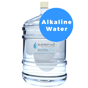 Bottle With Single Fill-Up - Alkaline Plus H2O