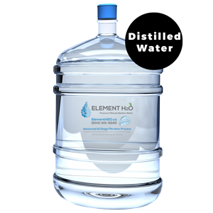 Bottle With Single Fill-Up – Distilled Water