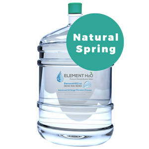 Bottle With Single Fill-Up - Natural Spring H2O