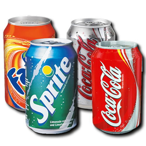 Soft Drinks (Cans)