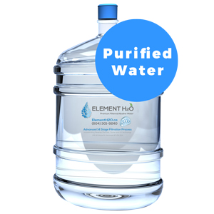 Bottle With Single Fill-Up - Purified Premium H2O
