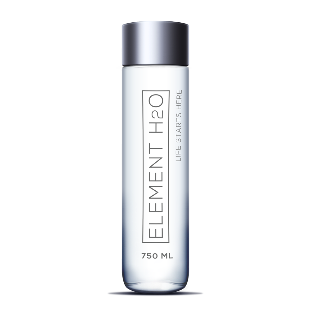Element H2O Glass Water Bottle (750mL)